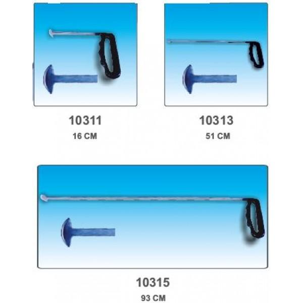 Крючок для беспокрасочного удаления вмятин (китовый ус), 150 мм. - 10311